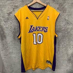 LA Lakers Steve Nash Adidas Jersey